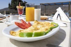 Breakfast_Hotel Milos Resort